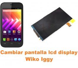 Cambiar pantalla lcd display Wiko Iggy