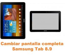 Cambiar pantalla completa Samsung Tab 8.9 P7300 P7310 P7320