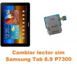 Cambiar lector sim Samsung Tab 8.9 P7300
