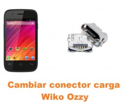 Cambiar conector carga Wiko Ozzy