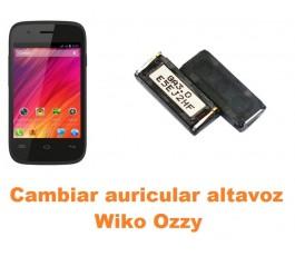 Cambiar auricular altavoz Wiko Ozzy