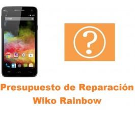 Presupuesto de reparación Wiko Rainbow