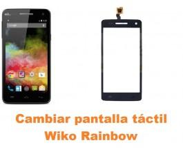 Cambiar pantalla táctil cristal Wiko Rainbow