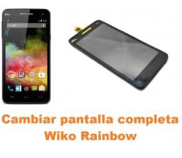 Cambiar pantalla completa Wiko Rainbow