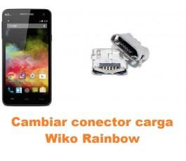 Cambiar conector carga Wiko Rainbow