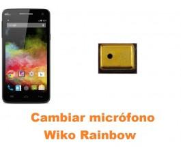 Cambiar micrófono Wiko Rainbow