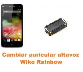 Cambiar auricular altavoz Wiko Rainbow