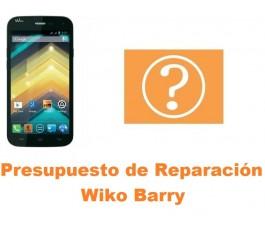 Presupuesto de reparación Wiko Barry