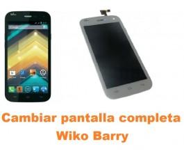 Cambiar pantalla completa Wiko Barry