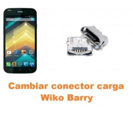 Cambiar conector carga Wiko Barry