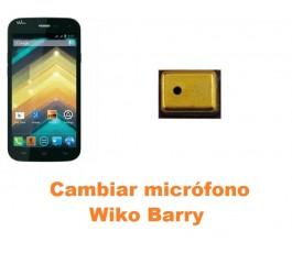 Cambiar micrófono Wiko Barry