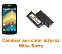 Cambiar auricular altavoz Wiko Barry