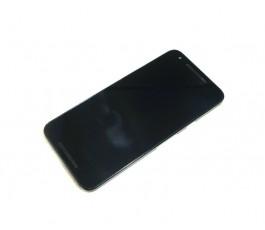 Pantalla completa con marco para Lg Nexus 5X H791 negro original
