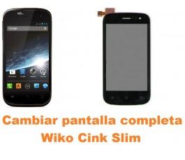 Cambiar pantalla completa Wiko Cink Slim