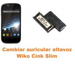 Cambiar auricular altavoz Wiko Cink Slim