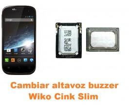 Cambiar altavoz buzzer Wiko Cink Slim