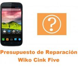 Presupuesto de reparación Wiko Cink Five