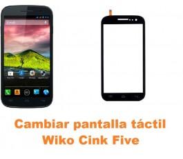 Cambiar pantalla táctil cristal Wiko Cink Five