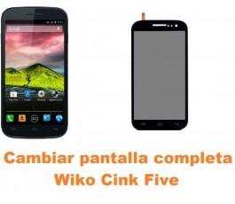 Cambiar pantalla completa Wiko Cink Five