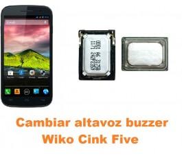 Cambiar altavoz buzzer Wiko Cink Five