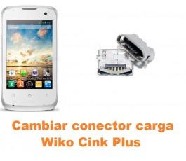 Cambiar conector carga Wiko Cink Plus