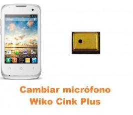 Cambiar micrófono Wiko Cink Plus