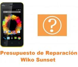 Presupuesto de reparación Wiko Sunset
