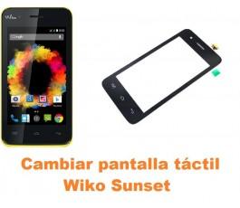 Cambiar pantalla táctil cristal Wiko Sunset