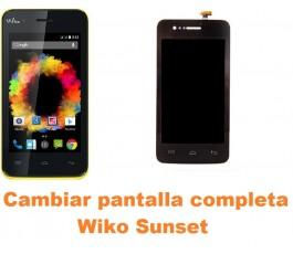 Cambiar pantalla completa Wiko Sunset