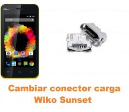 Cambiar conector carga Wiko Sunset
