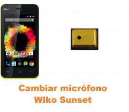 Cambiar micrófono Wiko Sunset
