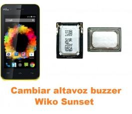 Cambiar altavoz buzzer Wiko Sunset