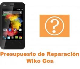 Presupuesto de reparación Wiko Goa