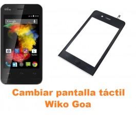 Cambiar pantalla táctil cristal Wiko Goa