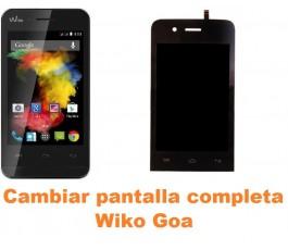 Cambiar pantalla completa Wiko Goa