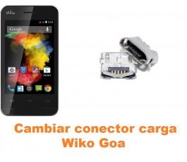 Cambiar conector carga Wiko Goa