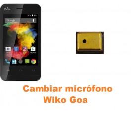 Cambiar micrófono Wiko Goa