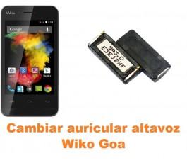 Cambiar auricular altavoz Wiko Goa