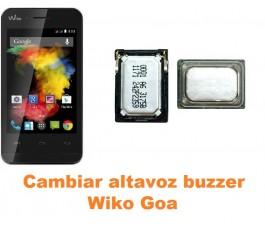 Cambiar altavoz buzzer Wiko Goa