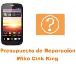 Presupuesto de reparación Wiko Cink King