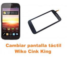 Cambiar pantalla táctil cristal Wiko Cink King