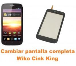 Cambiar pantalla completa Wiko Cink King