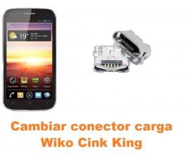 Cambiar conector carga Wiko Cink King