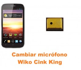 Cambiar micrófono Wiko Cink King