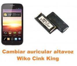 Cambiar auricular altavoz Wiko Cink King