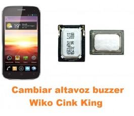 Cambiar altavoz buzzer Wiko Cink King
