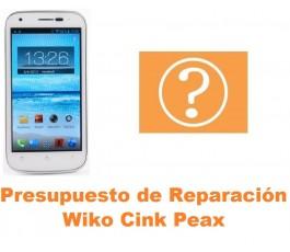 Presupuesto de reparación Wiko Cink Peax