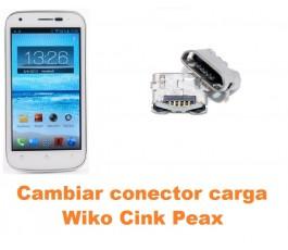 Cambiar conector carga Wiko Cink Peax