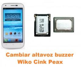 Cambiar altavoz buzzer Wiko Cink Peax
