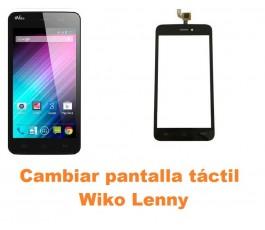 Cambiar pantalla táctil cristal Wiko Lenny